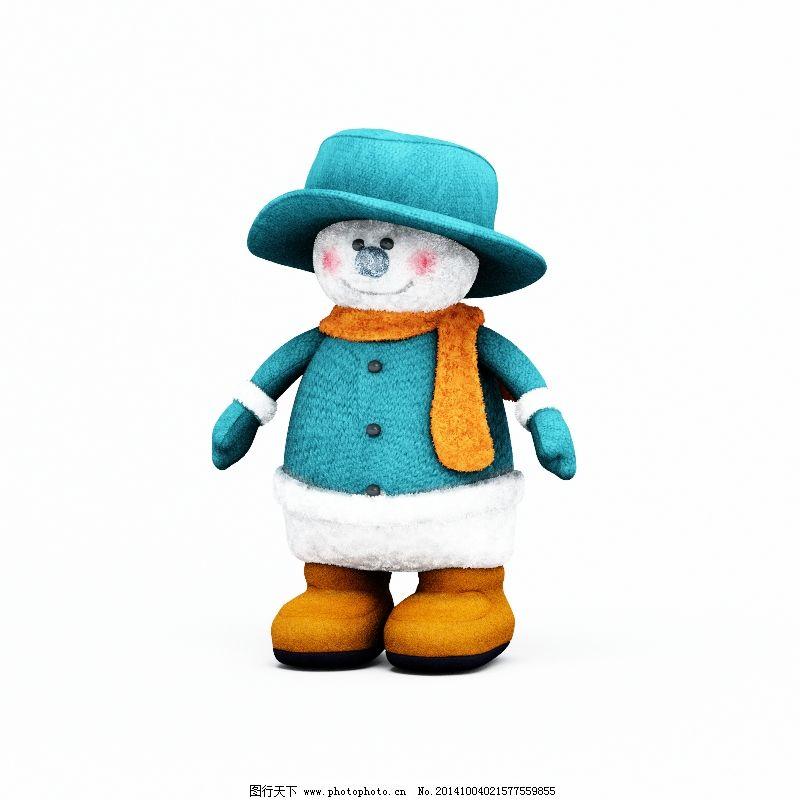 可爱的小雪人免费下载