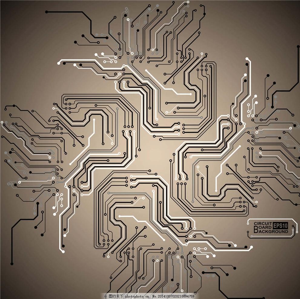 科技元素背景 电路板 科技背景 科幻 科学背景 电子背景 壁纸
