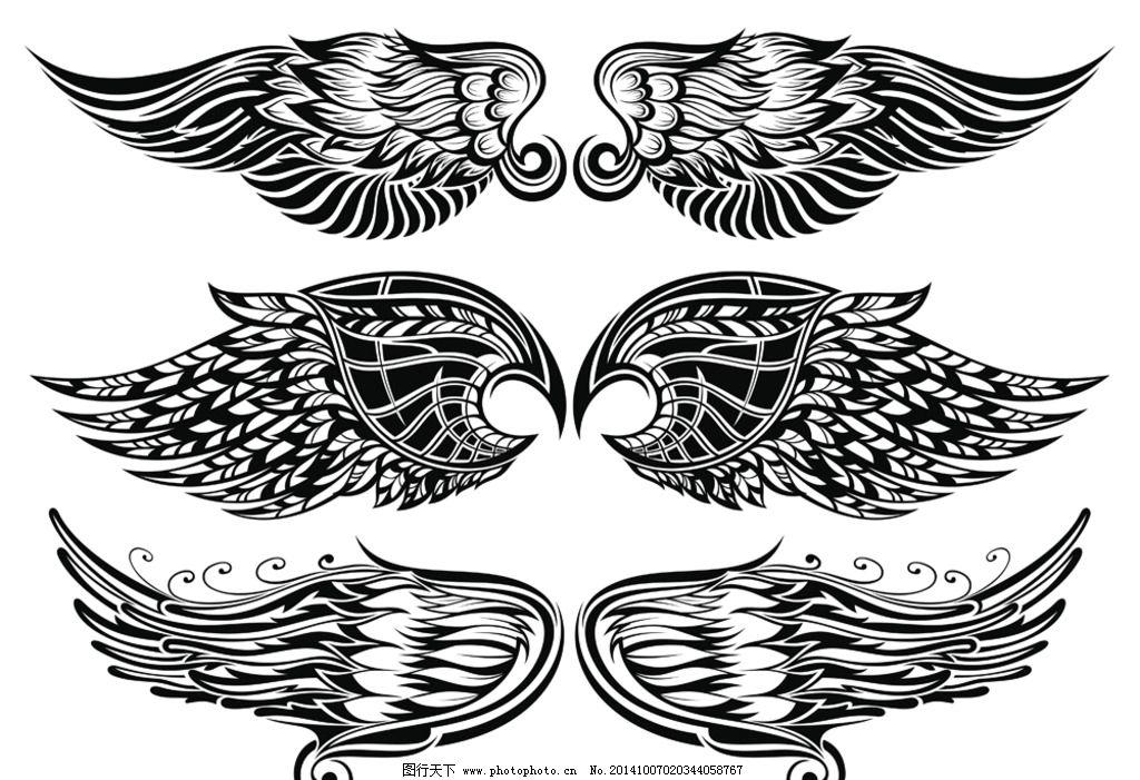 纹身 手绘 图腾 花纹 纹样