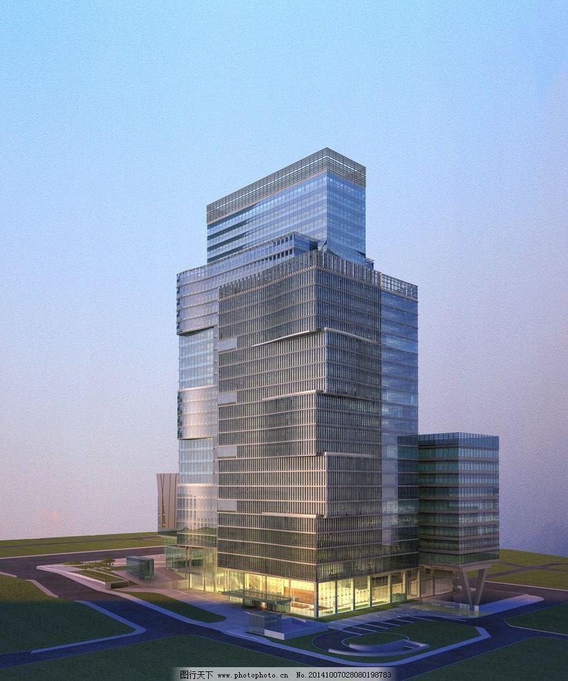 商业大楼景观设计图片