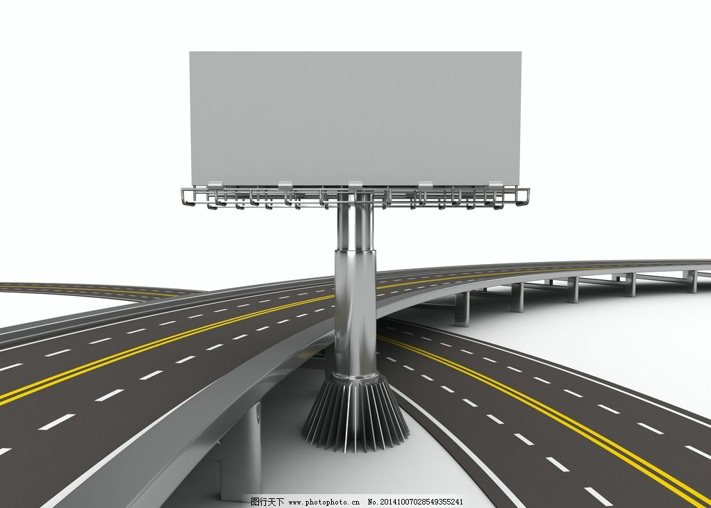 户外广告牌 露天广告牌 空白广告牌 公告牌 广告牌设计