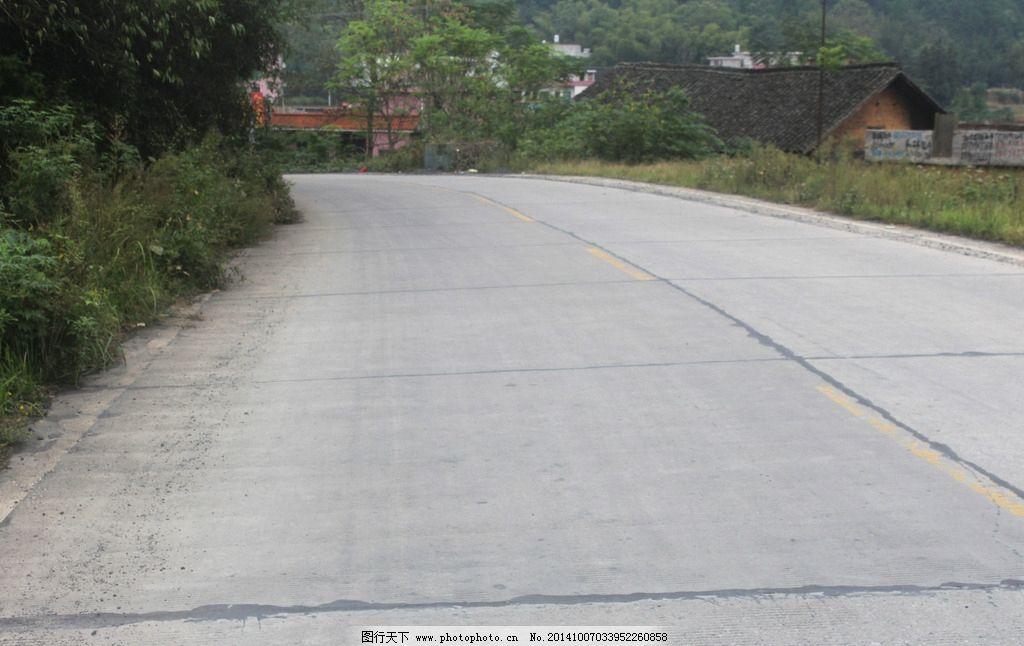 马路风景图片