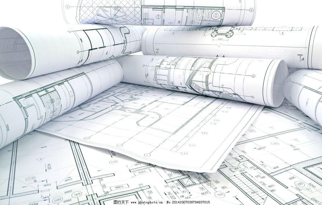 建筑图纸 平面设计图 工程图纸 装修 手绘 施工图 美术绘画 摄影 文化