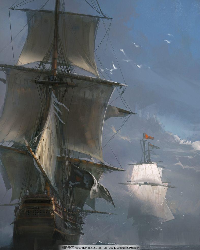 海上帆船出海