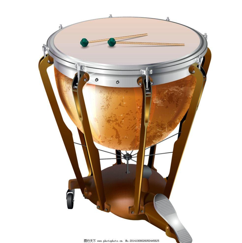架子鼓 打击乐器 鼓 脚踏鼓 管乐 交响乐 矢量图 高清大图 西洋乐器图片