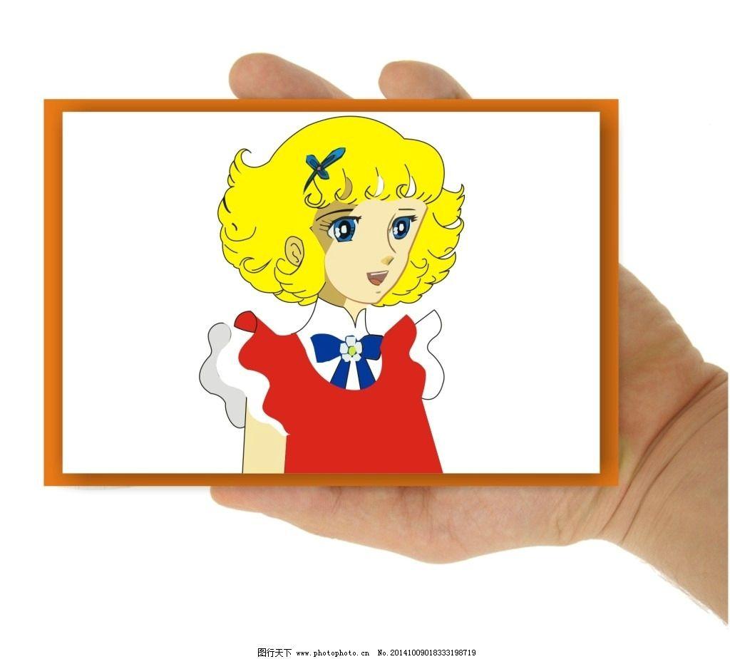 花仙子漫画 美女漫画 小美女漫画 可爱美女漫画 矢量图 动漫动画