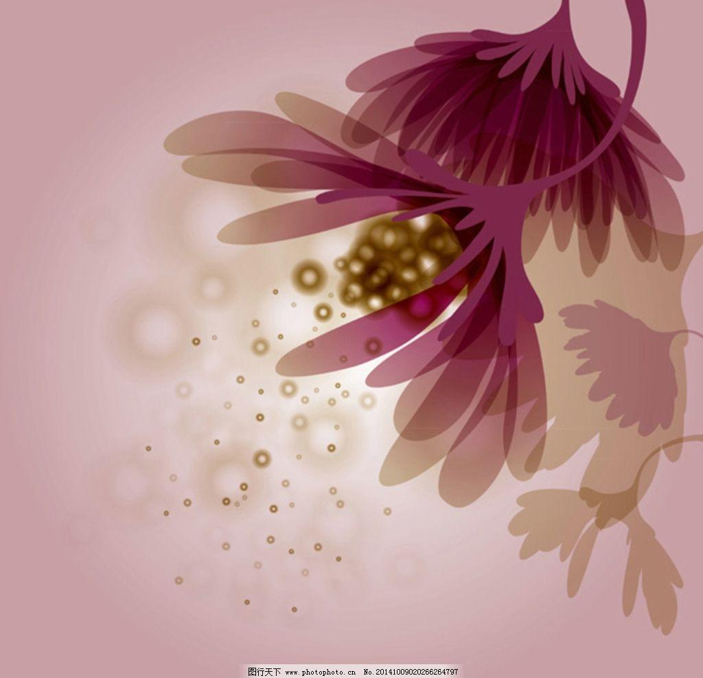 鲜花 花卉 花 背景 花纹 手绘 背景素材 鲜花背景 底纹背景 手绘鲜花