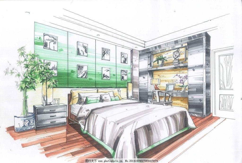 室内      手绘 装饰 作业  设计 环境设计 室内设计 400dpi jpg