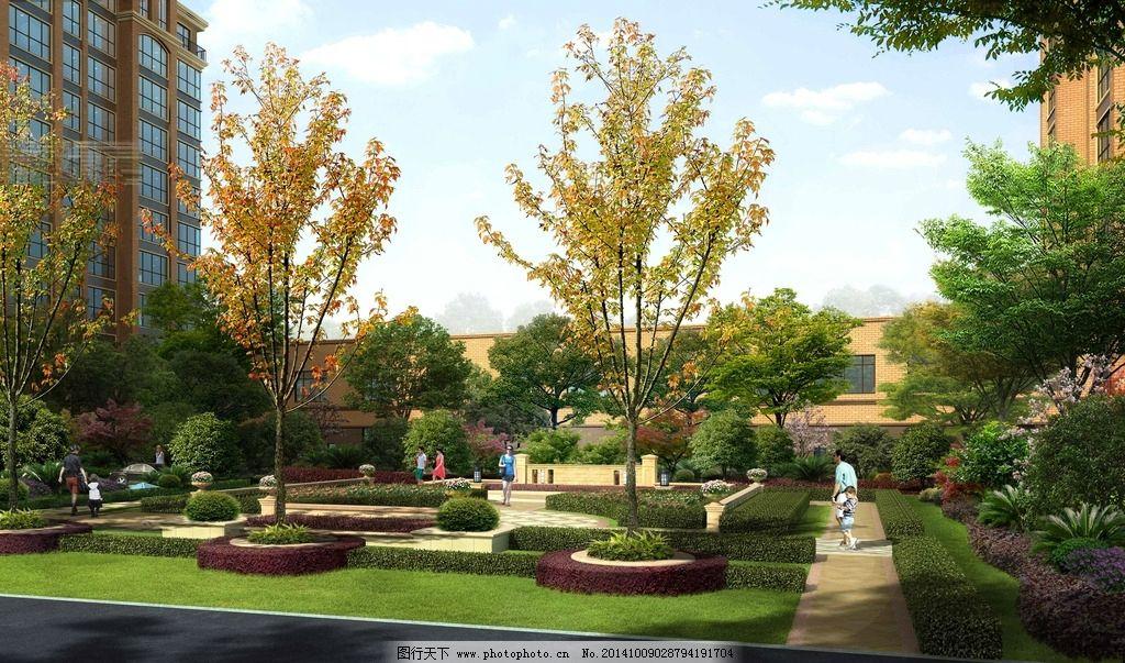 园林设计 广场设计 绿化设计 植物搭配 景墙 环境设计 学校园林 小区