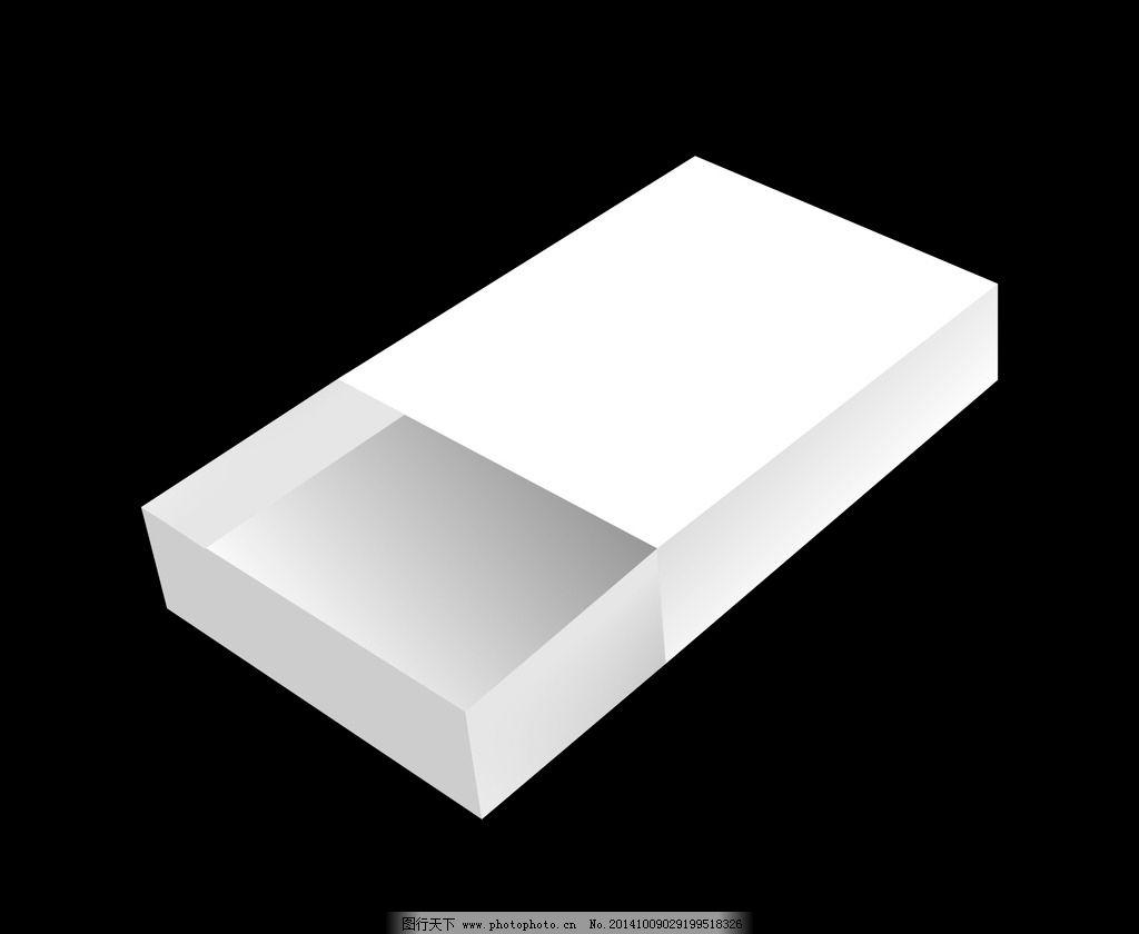 抽屉包装盒 盒子 手绘 广告设计