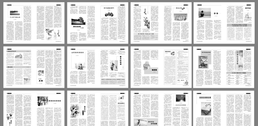 cdr 广告设计 画册设计 平面 设计 书籍 书籍排版 杂志 书籍排版 散文