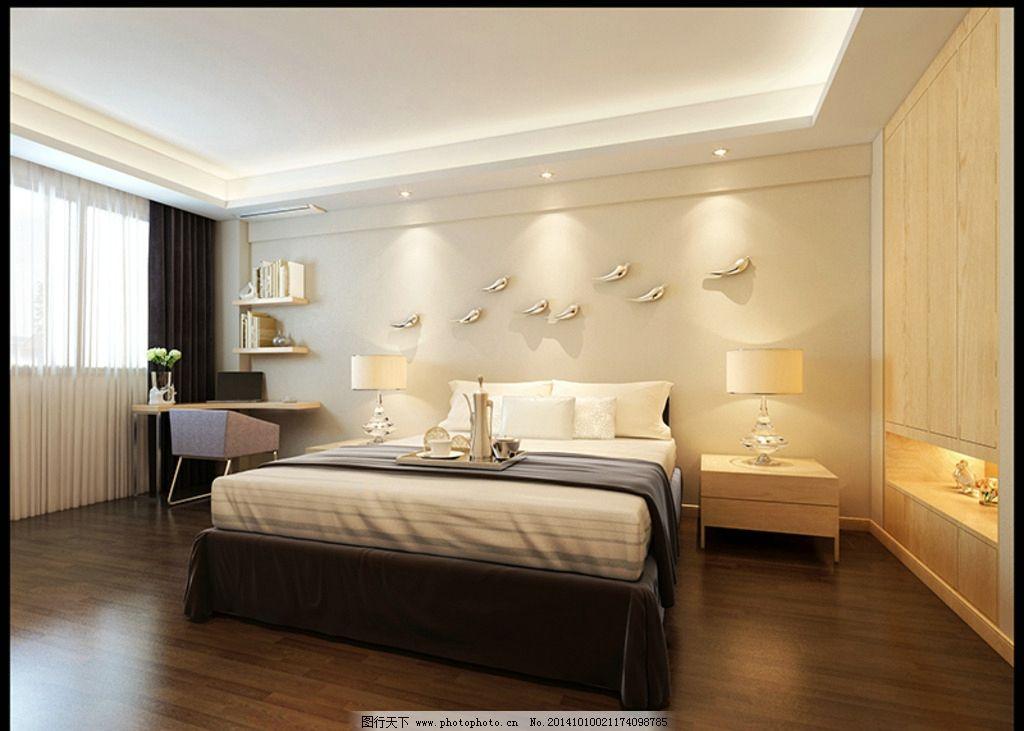 套房             套房卧室 卧室效果 卧室效果图 设计 3d设计 3d作品