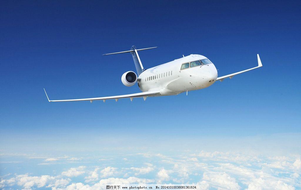 飞机 私人飞机 喷气式飞机 蓝天 白云 航班 客机 波音 专机 支线飞机