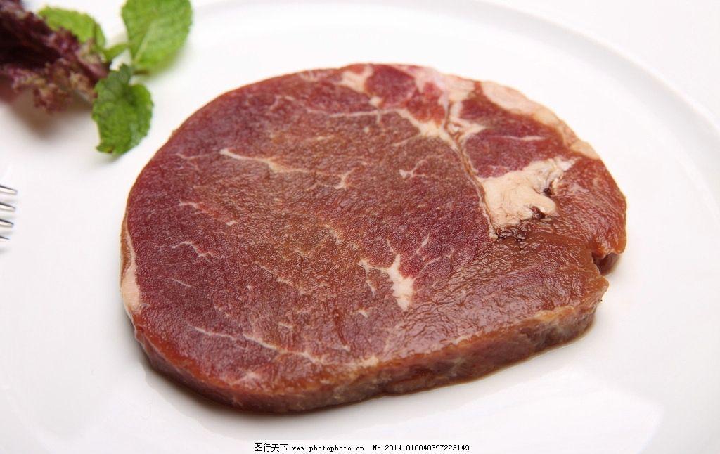 冷牛扒_西冷牛排 牛排 生牛排 牛扒 澳洲牛扒 摄影 餐饮美食 西餐美食 350dpi