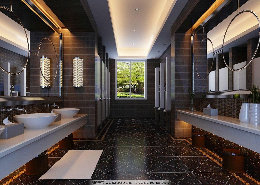 卫生间 公共卫生间 厕所 公共厕所 公用厕所 公用卫生间 室内装修图片