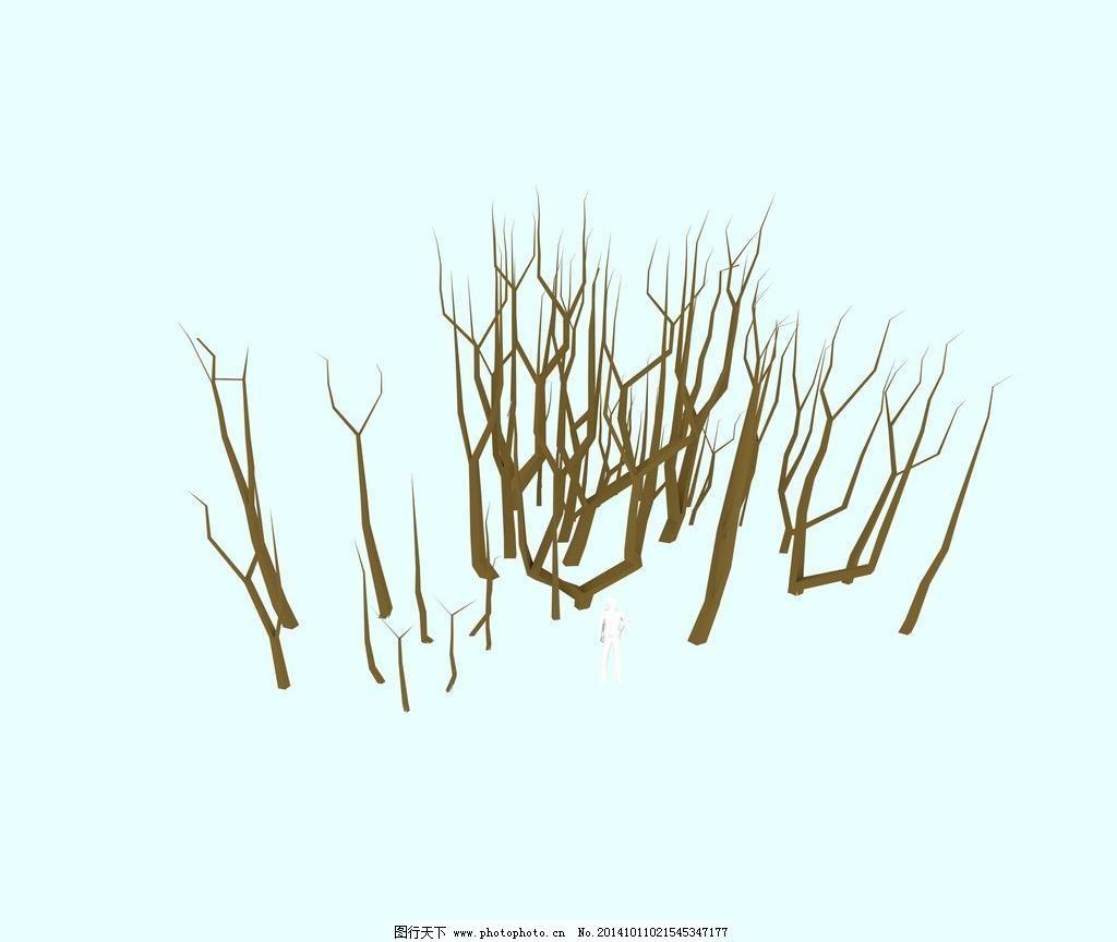 sd 草 草地 枫树 灌木 灌木丛 果树 花 景观树 兰花 树枝 平面树 树丛