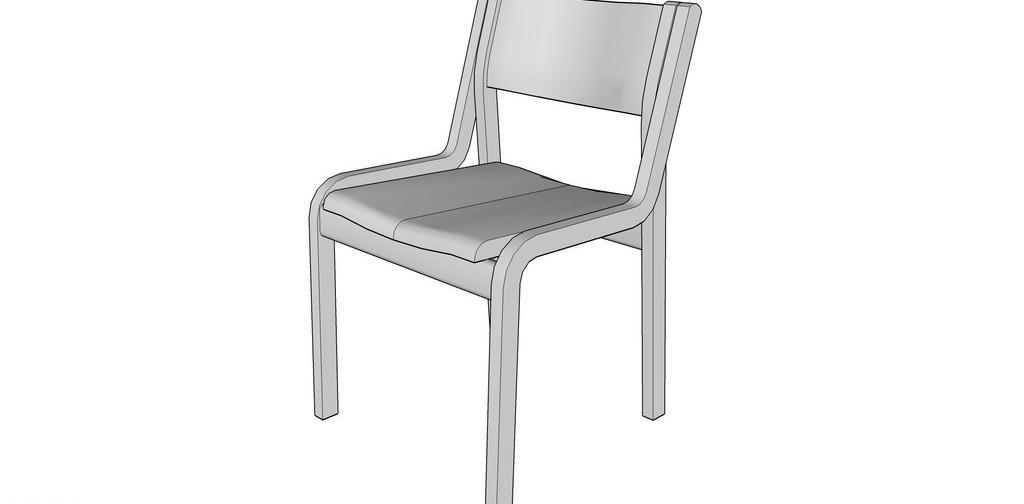 木椅制作图纸