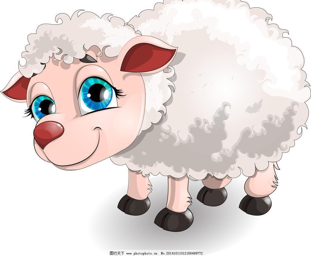 羊年素材 动物 动物世界 广告设计 家禽家畜 节日庆祝 卡通动物