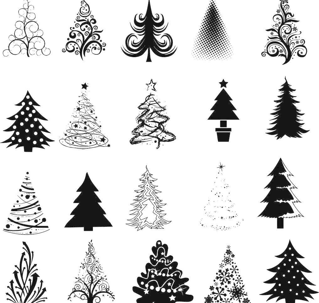 树 圣诞节 圣诞 圣诞背景 新年背景 圣诞节装饰 2015 圣诞节插画 手绘