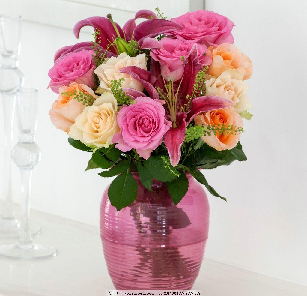 浪漫 花束/浪漫粉色花束图片