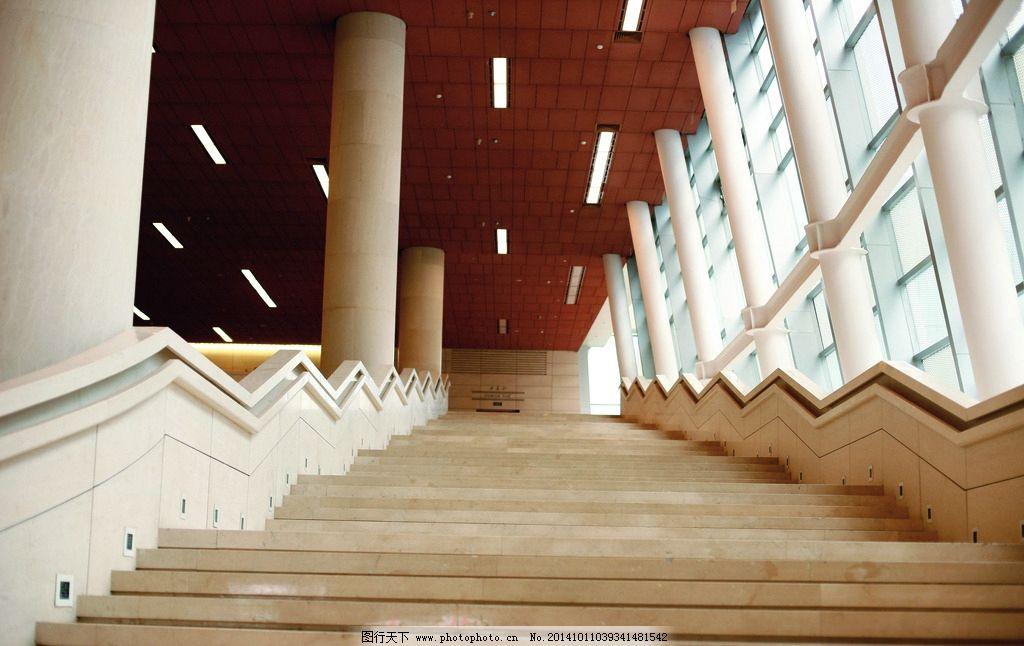 欧美风情 古建筑 柱子 阶梯 时尚 室内风景 摄影 建筑园林 室内摄影
