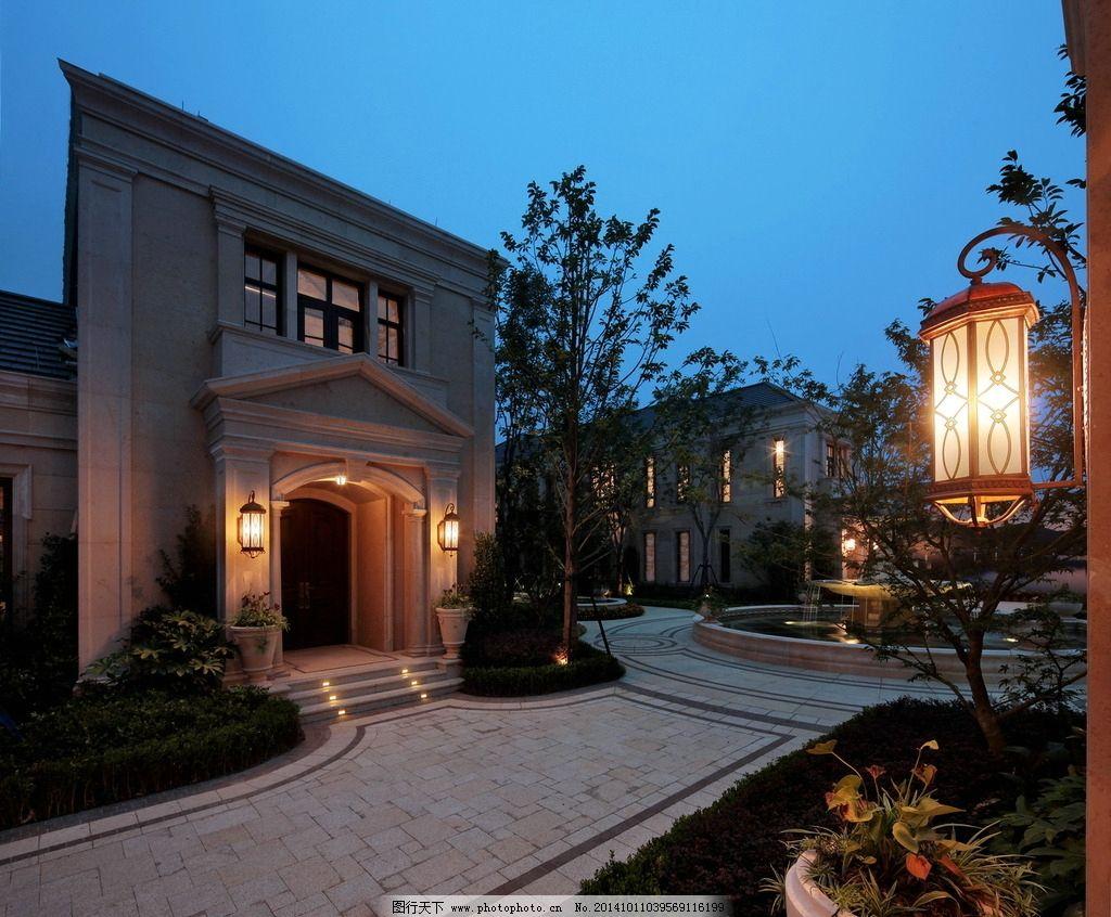 高端古典欧式别墅实景图片
