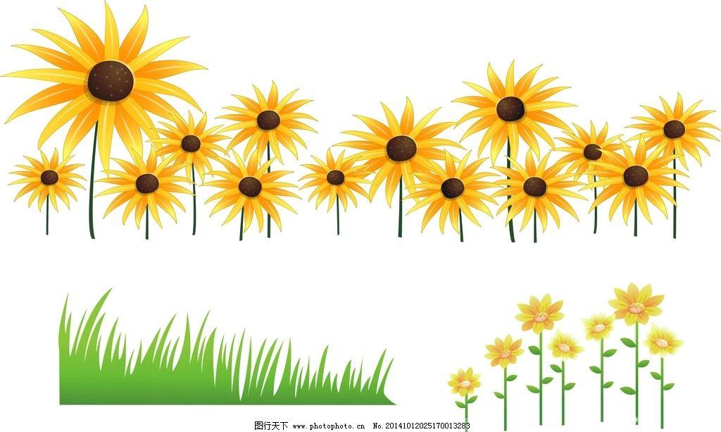 素材 花卉植物 花草 手绘 时尚 春天素材 春季素材 绿色植物 绿色装饰