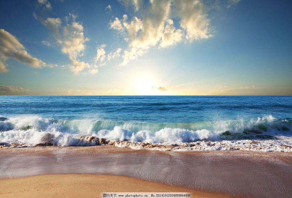 唯美大海图片