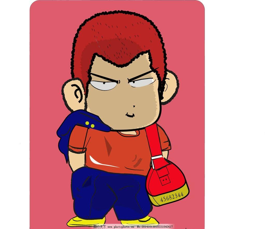 樱木花道 卡通 动漫 男孩 原创 动漫动画
