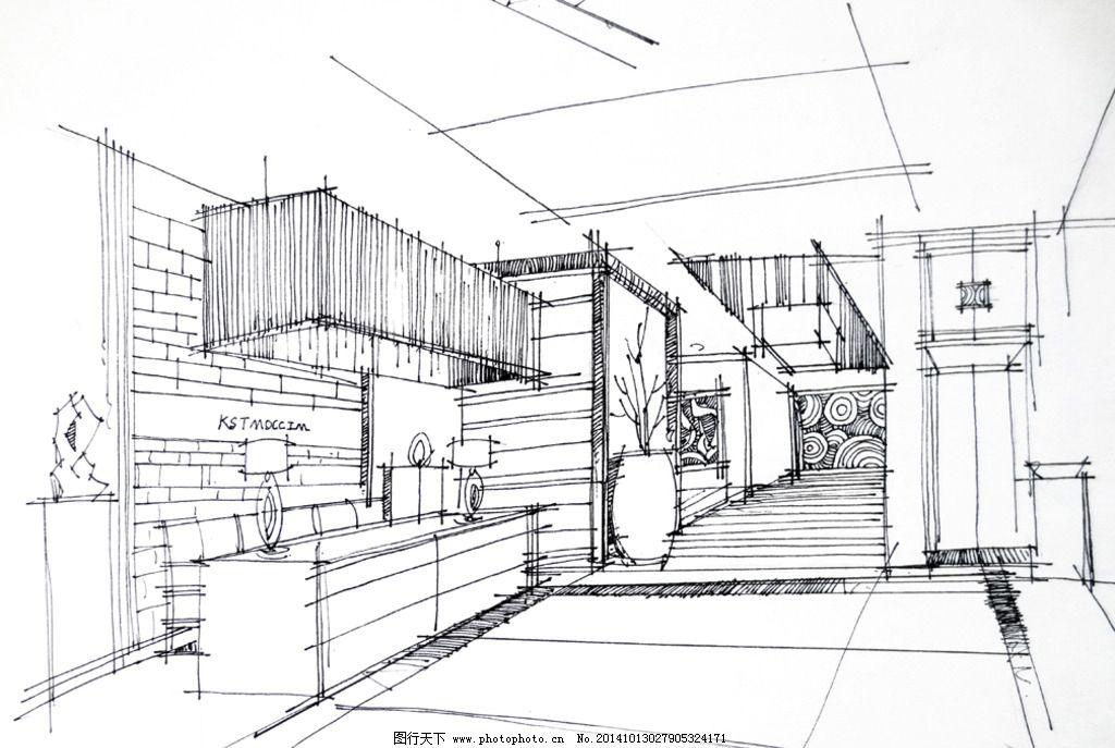 室内设计 室内效果图 手绘设计 前台设计 接待处设计 设计 环境设计