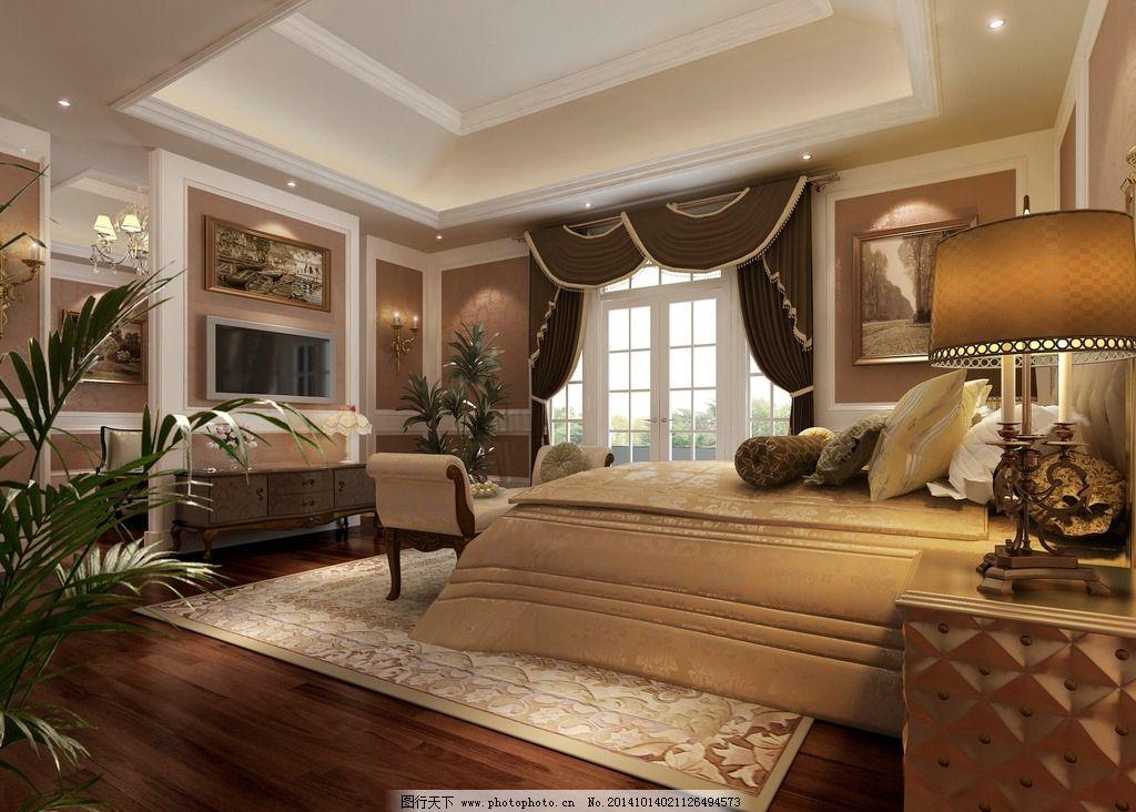 卧室 室内 装潢 工装 家装 室内设计 建筑 客厅 时尚卧室 室内模型