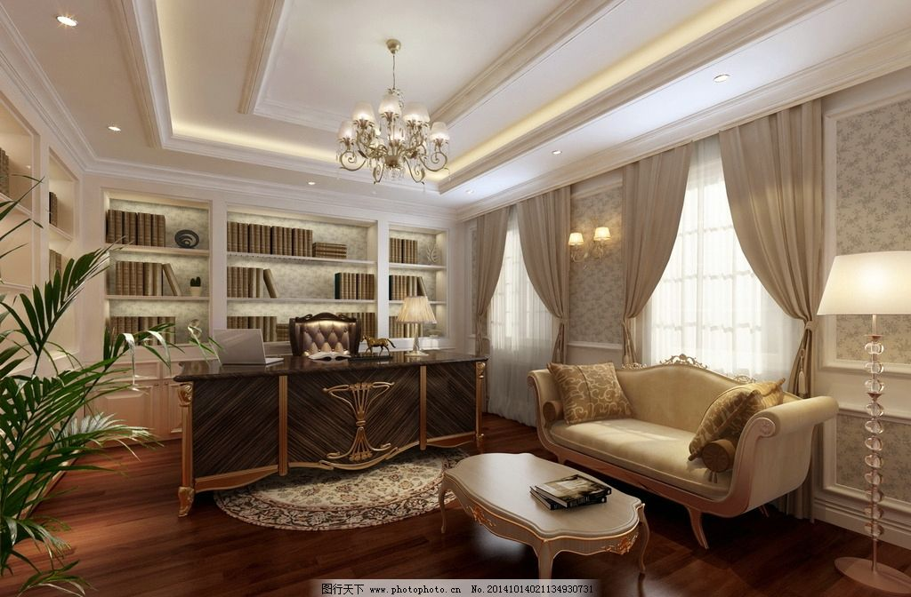 欧式客厅 室内 装潢 工装 家装 室内设计 建筑 卧室 时尚卧室