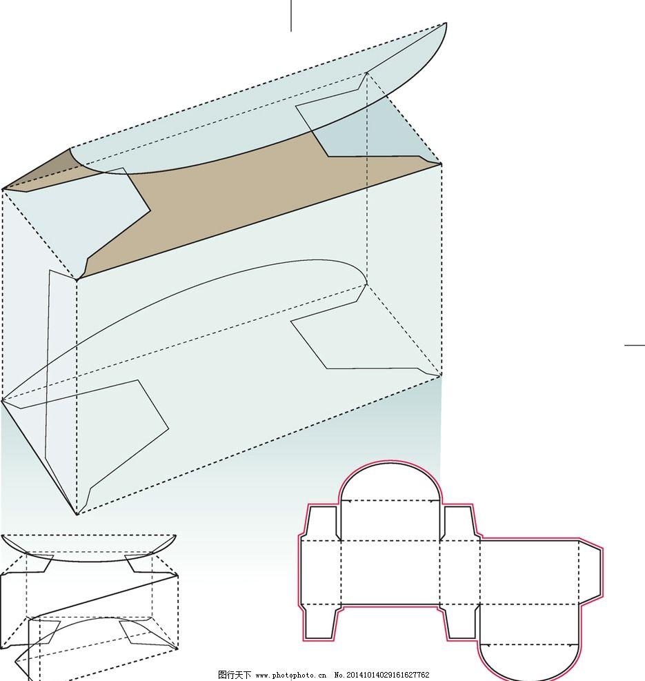 纸盒包装 包装盒 包装盒模板