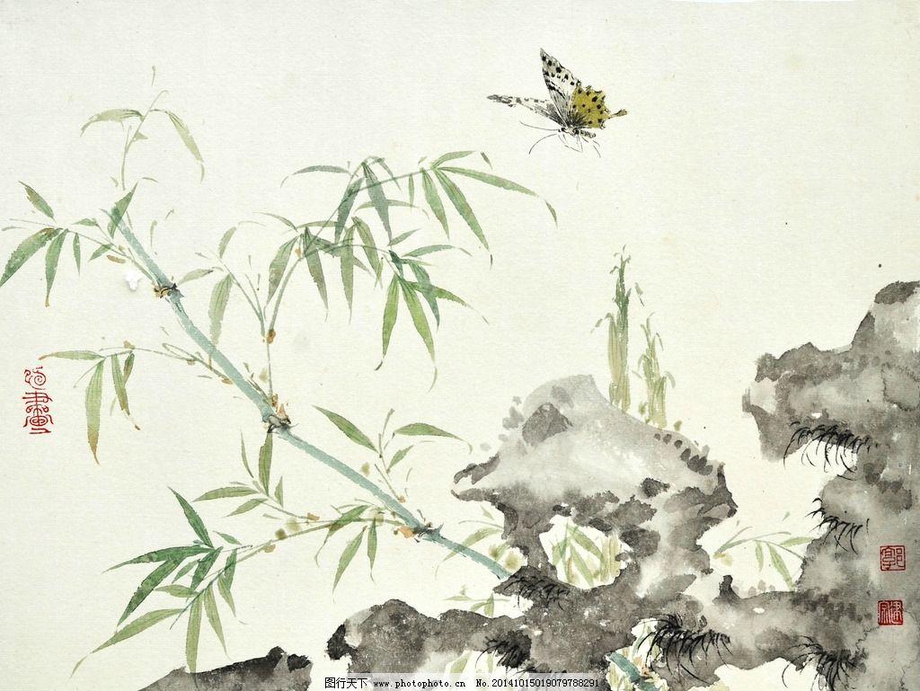 国画蝴蝶画法步骤视频