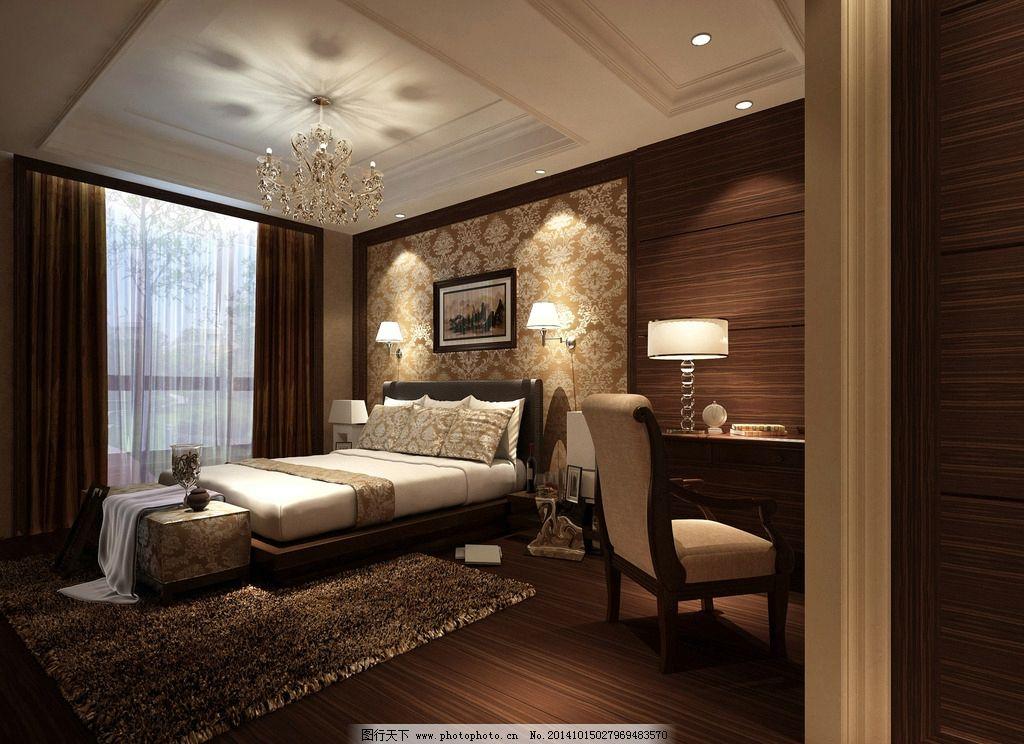 古典卧室图片_室内设计_环境设计_图行天下图库