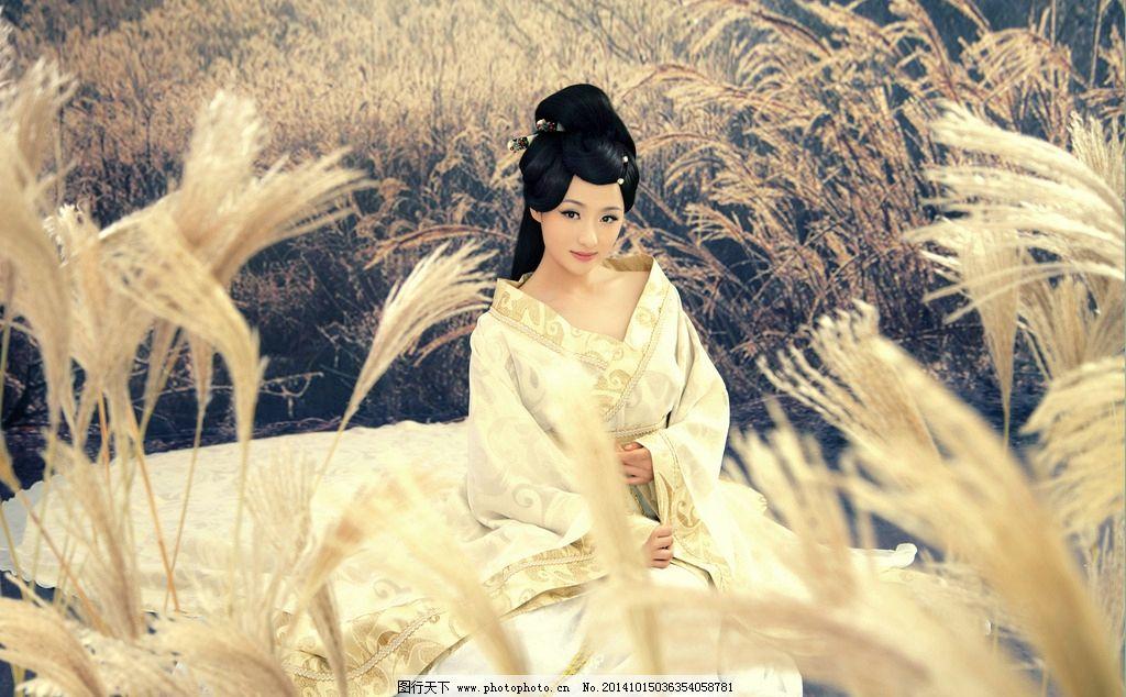 古代美女摄影写真图片,古装美女 室内 唯美 感性 大图