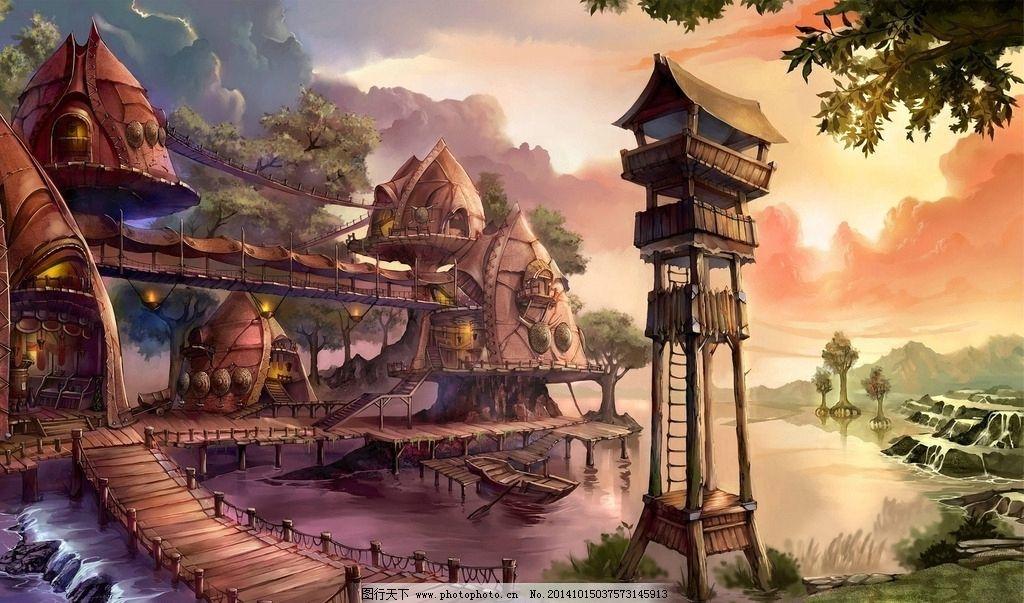 游戏背景素材图片
