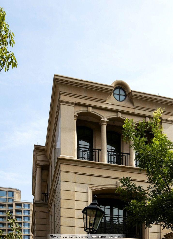 高端古典欧式联排别墅图片