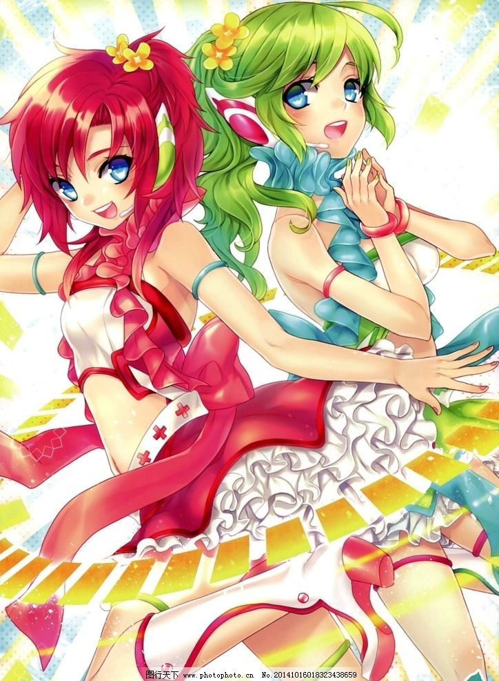 动漫美少女 校服 天使 日漫 手绘 彩色  设计 动漫动画 动漫人物 177