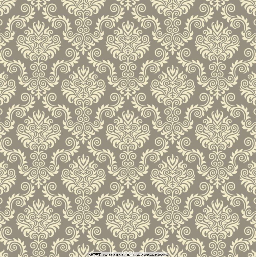 欧式花纹 古典底纹 壁纸花纹
