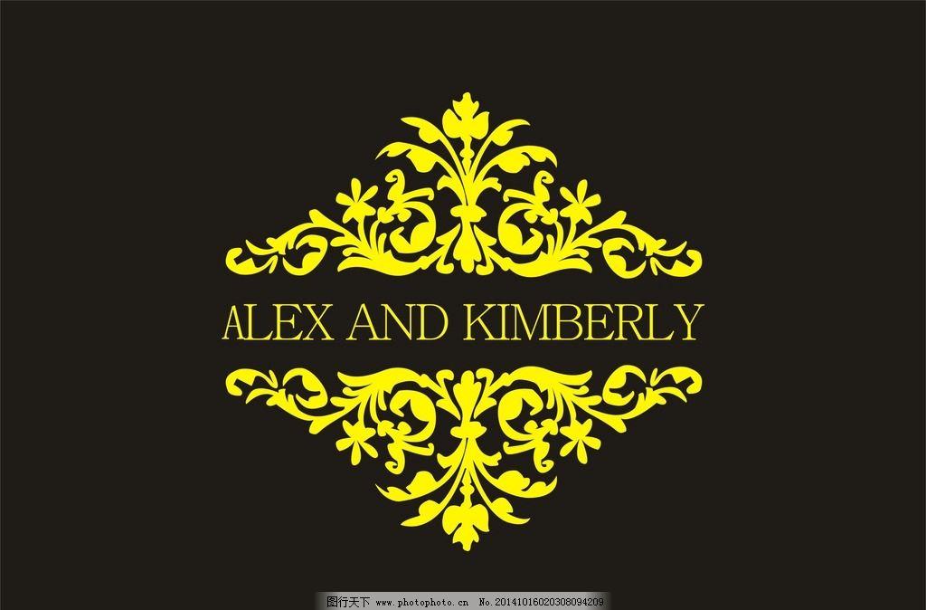 金色 花纹 底纹 文字 边框 欧式花纹 传统 复古 花边 花纹 背景 设计