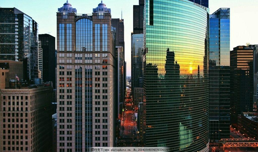 城市高楼 城市 城市建筑 城市傍晚 航拍 俯拍 鸟瞰 城市风光 城市风景