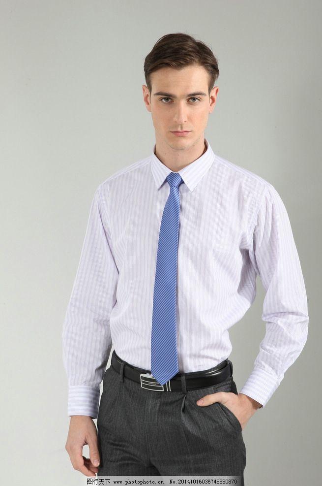 外国模特 欧美模特 外国男士 衬衫男模 气质男模 打领带男人 秋装男模