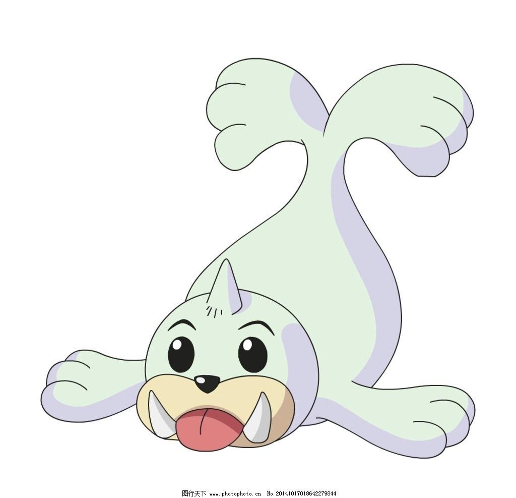 宠物小精灵 神奇宝贝 口袋妖怪 卡通海狮 卡通动物 动漫周边 设计
