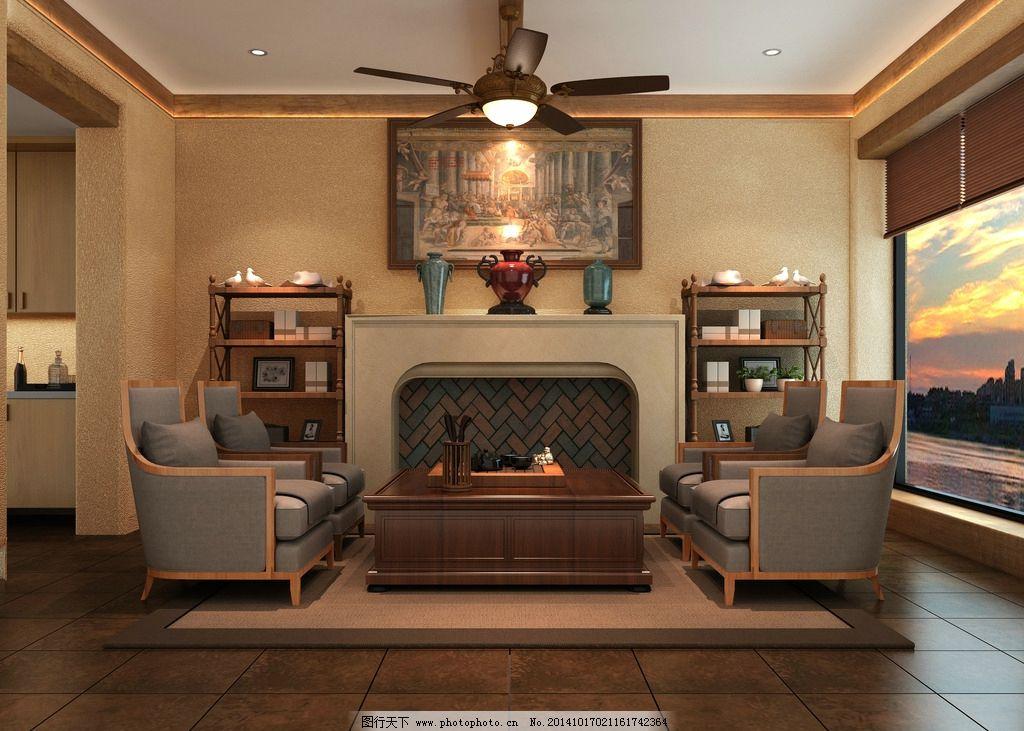 室内设计3d效果图图片