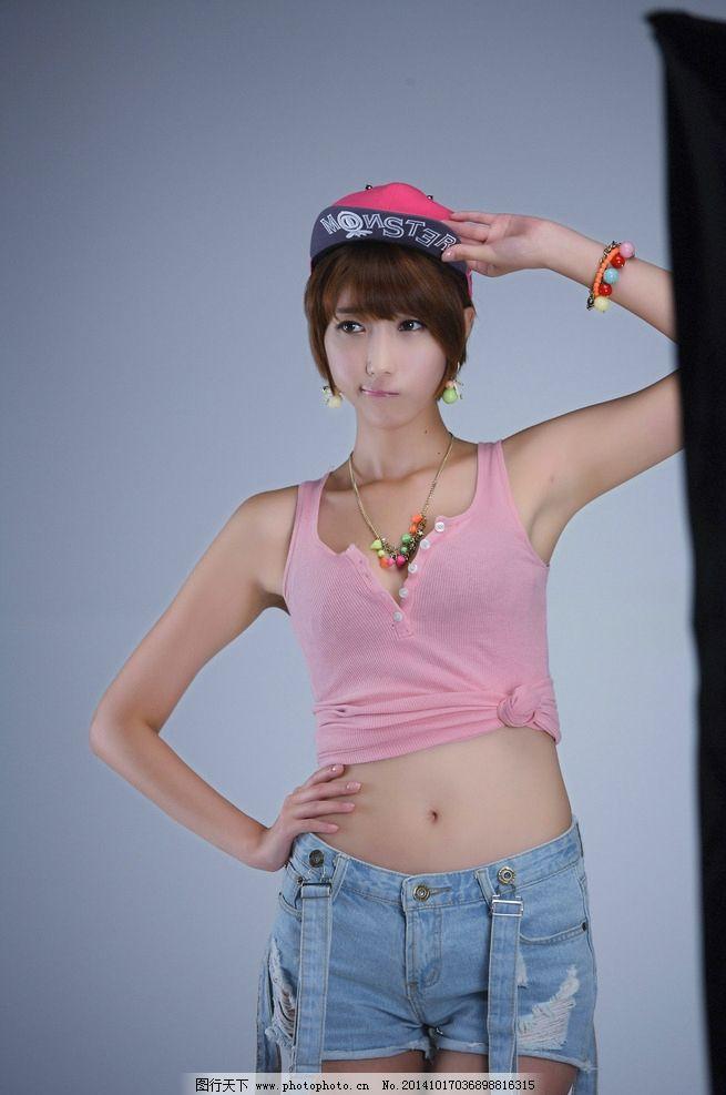 短发 美女 性感 可爱 女性 美女模特 摄影 人物图库 女性女人 3dpi