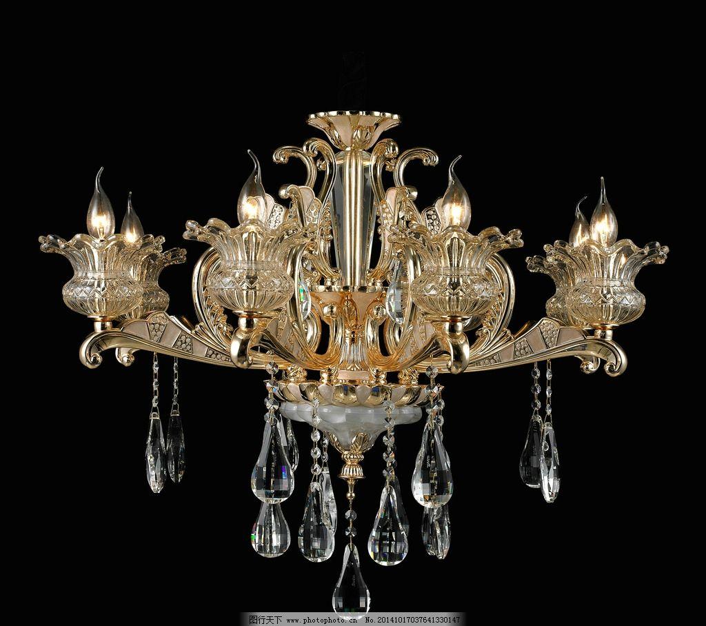 水晶灯吊灯 锌合金灯 灯具 灯饰 欧式灯 欧范灯饰 锌合金吊灯