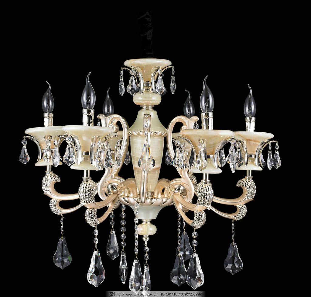水晶灯 吊灯 锌合金灯 灯具 灯饰 欧式灯 欧范灯饰 锌合金吊灯 摄影