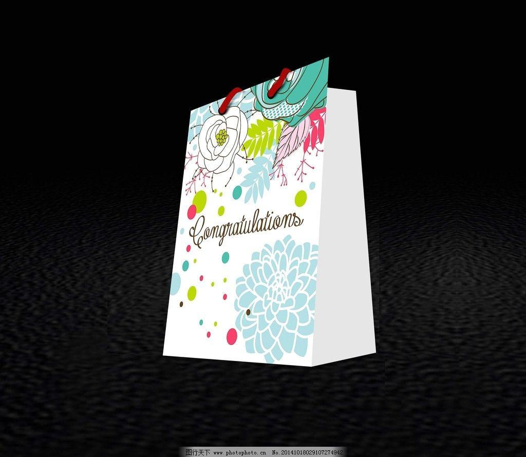 手提袋 平面图 手提袋设计 礼盒手提袋 礼品手提袋 创意手提袋