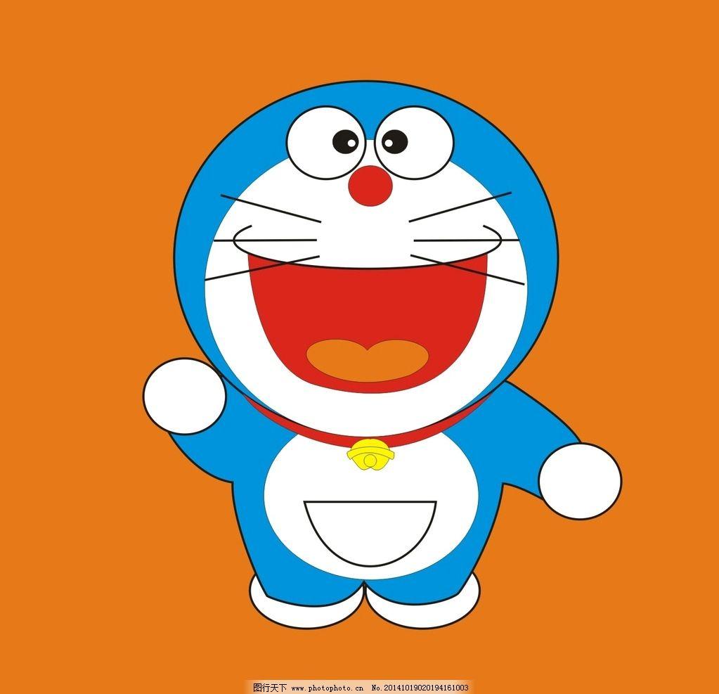 叮当猫 卡通 可爱 矢量 手绘 卡通 设计 广告设计 卡通设计  cdr